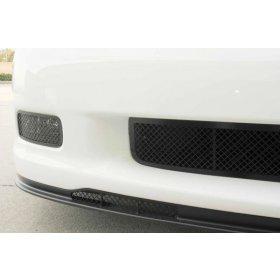 C6 Corvette Air Dam Grilles - Blakk Stealth