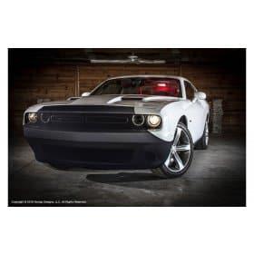 2008-2017 Dodge Challenger Front Bumper Mask Bra NoviStretch