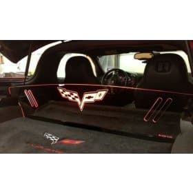 C6 Corvette  Glow Plate Partition