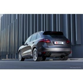 Porsche Cayenne Akrapovic Slip-On Exhaust System