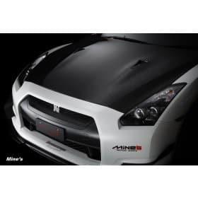 Nissan GT-R R35 Mine's Dry Carbon Hood