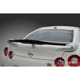 Nissan GT-R R35 Mine's Dry Carbon Rear Wing Cover