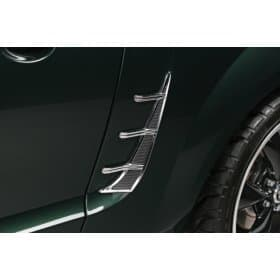 Mustang Chrome Quarter Panel Vent Inserts