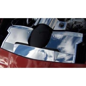 C6 Polished Stainless Steel Radiator Cover