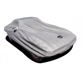 C2 Corvette Car Cover SoftShield includes cable and lock