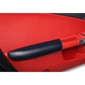 C6 Corvette Leather Armrest Pads