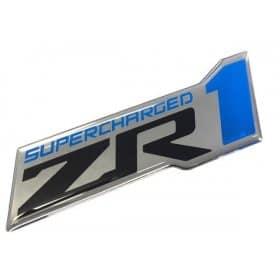 C6 Corvette ZR1 Logo Domed Decals