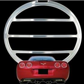 C6 Corvette Billet Tail Light Bezels