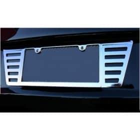 C6 Corvette  Chrome Rear License Frame