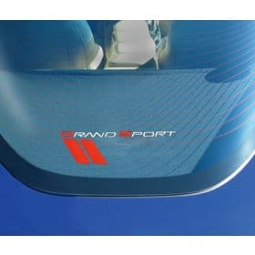 C6 Corvette  Grand Sport Rear Cargo Shade