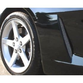 C6 Corvette Stainless Side Vent Screens