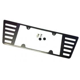 C7 Corvette License Plate Frame - Carbon Fiber