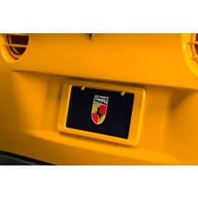 Corvette Altec License Plate Frame