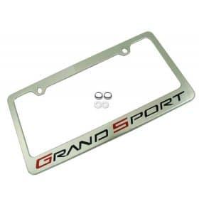 C6 Corvette Grand Sport License Plate Frame