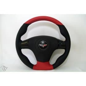 C6 Corvette  Leather DStyle Steering Wheel