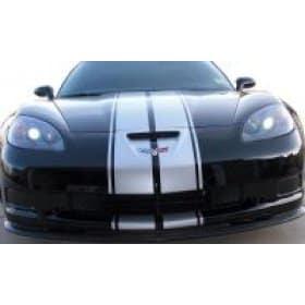 C6 Corvette  Z06 Grand Sport Driving Light Blackout Kit