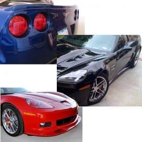 C6 Corvette ZR1 Body Kit - Painted Body Color