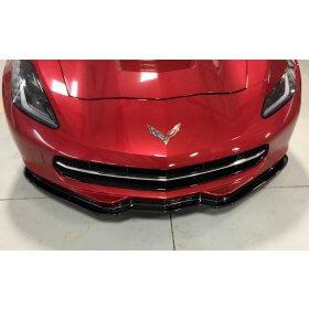 C7 Corvette Carbon Fiber Front Splitter - Z06 Like