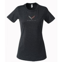 C7 Corvette Ladies Logo T-Shirt