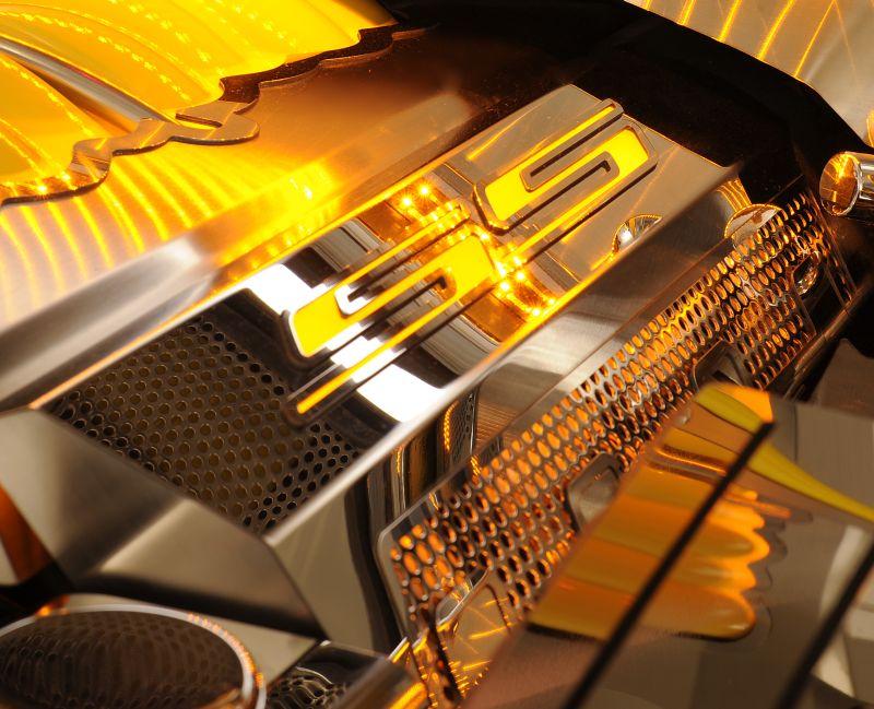 Stainless Steel Camaro Fuel Rails