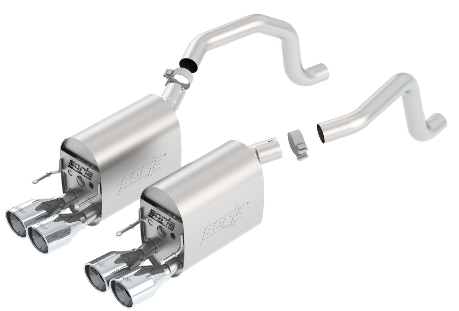 Borla 11811 C6 Sport Exhaust