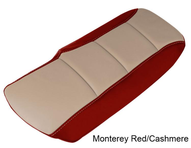 Color Matched Leather Corvette Armrest