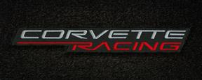 lloyds corvette racing logo, corvette c5 cargo mat