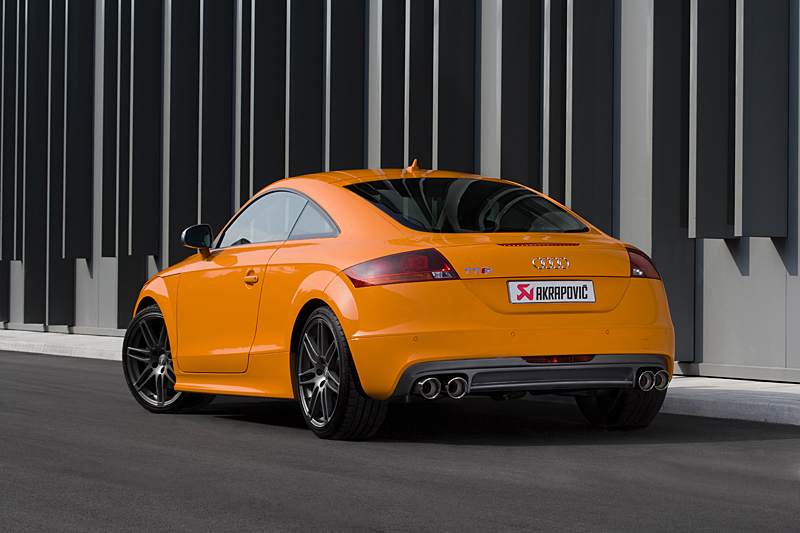 audi tts akrapovic exhaust akrapovic exhaust audi tts. Black Bedroom Furniture Sets. Home Design Ideas