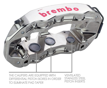 Brembo Big Brake Calipers