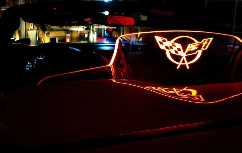 Corvette Convertible Wind Screen