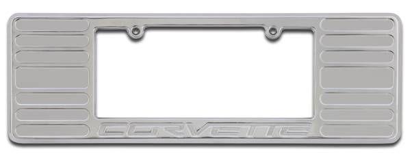 c6 corvette license plate frame