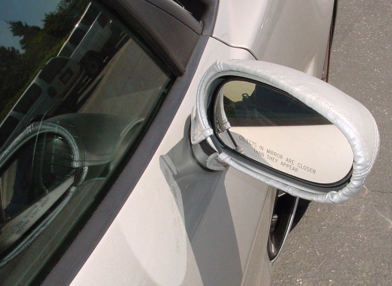 Corvette ZR1 Mirror Covers