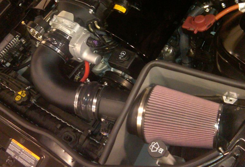 Magnuson 2300 Supercharger Cold Air Intake Camaro