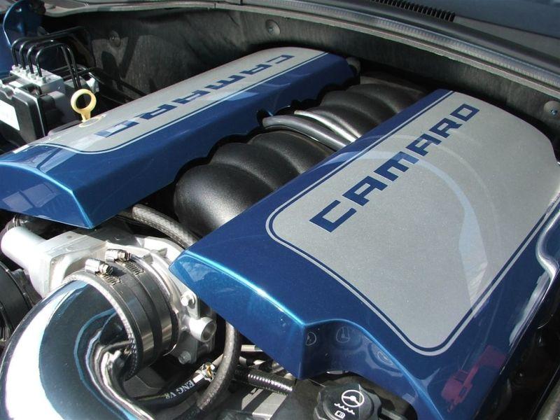 Camaro Aluminum Fuel Rail Cover