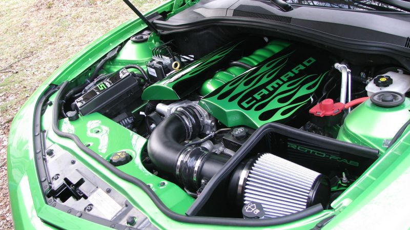Camaro SS Custom Fuel Rail Covers