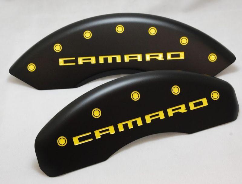 Camaro Stealth Black Brake Caliper Covers