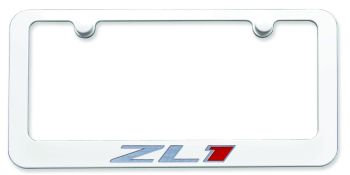 Paint Matched ZL1 License Plate Frame