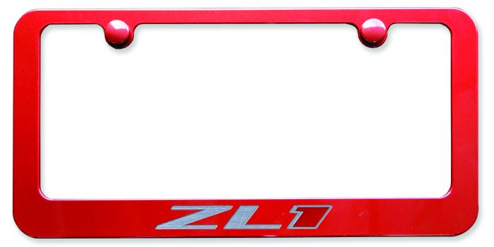 Camaro ZL1 Paint Matched License Plate Frame