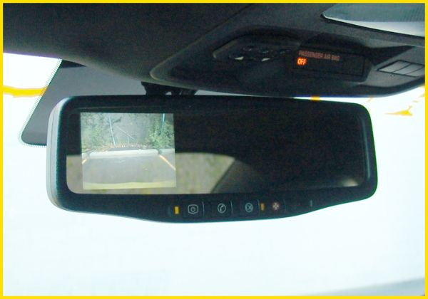 how to change conventional mirror for auto dimming