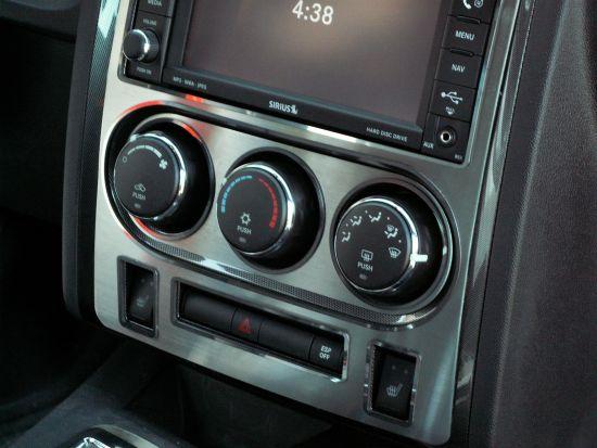 Dodge Challenger Center Dash Trim Plate by American Car Craft