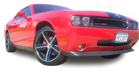 Dodge Challenger Brake Cover