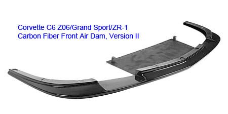 C6 Z06 Front Splitter