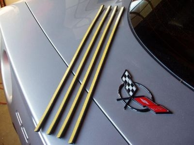 corvette tail light seals