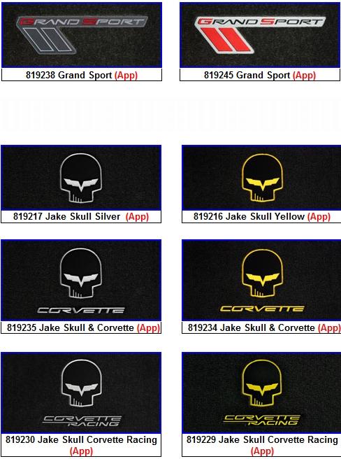 Lloyds Corvette Floor Mats