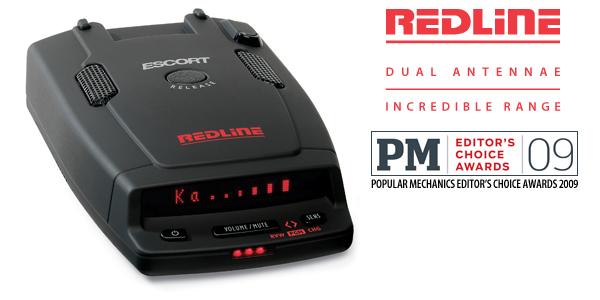 Escort Redline Long Range Radar and Laser Detector