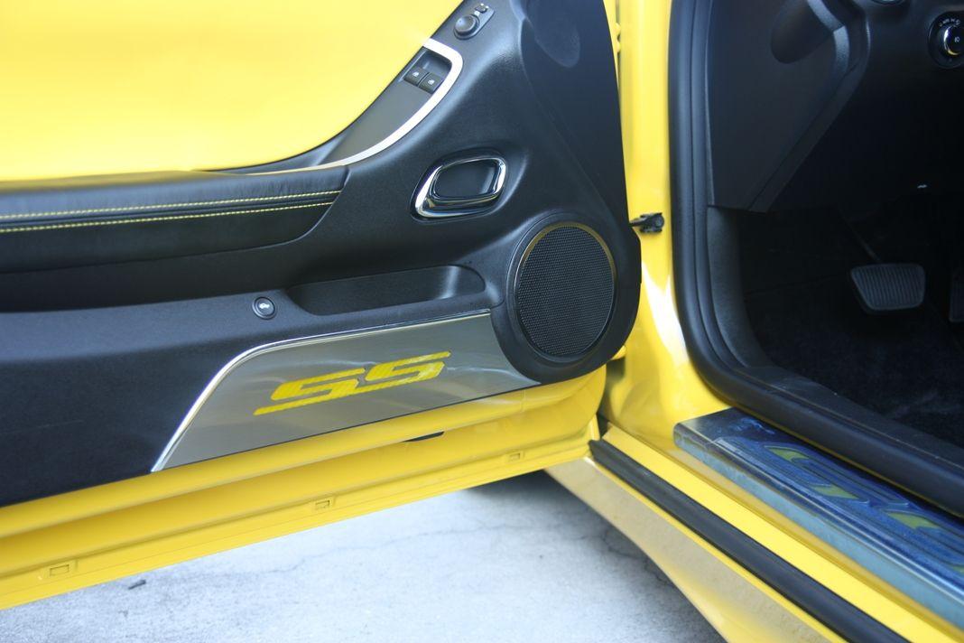 Camaro SS Carbon Fiber Door Kick Plates
