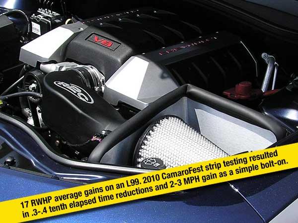 Camaro SS Intake System