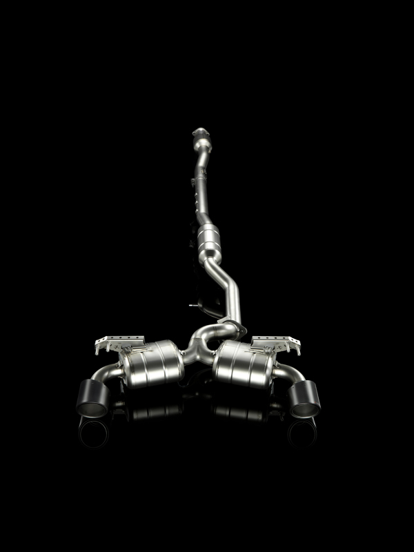 Lancer Evo X Evolution Exhaust
