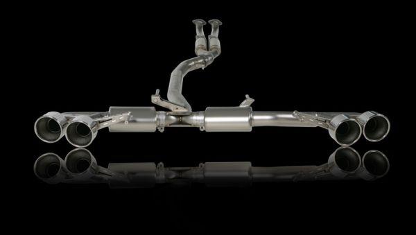 GTR Titanium Akrapovic Exhaust