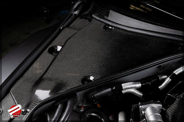 Carbon Fiber GT-R Engine Compartment Cover